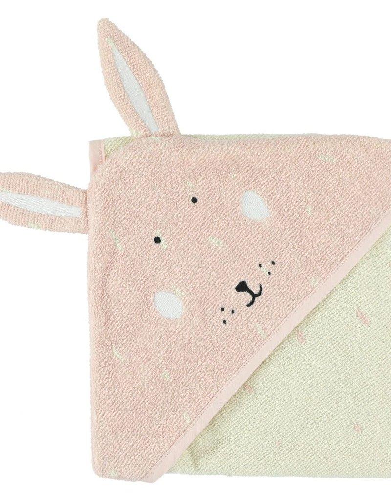 Trixie Serviette à capuche | 75x75cm - Mrs. Rabbit