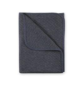 Bemini Deken / 75x100cm / antraciet grijs gemêleerd / quilted