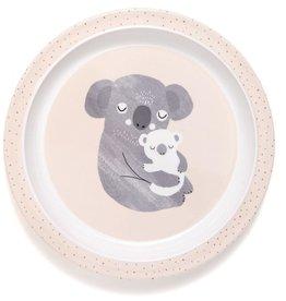 Petit Monkey Melamine Bord | Koala Met Rand