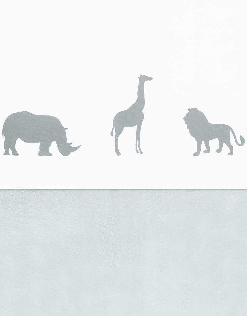 Jollein Laken 75x100cm Safari stone grey
