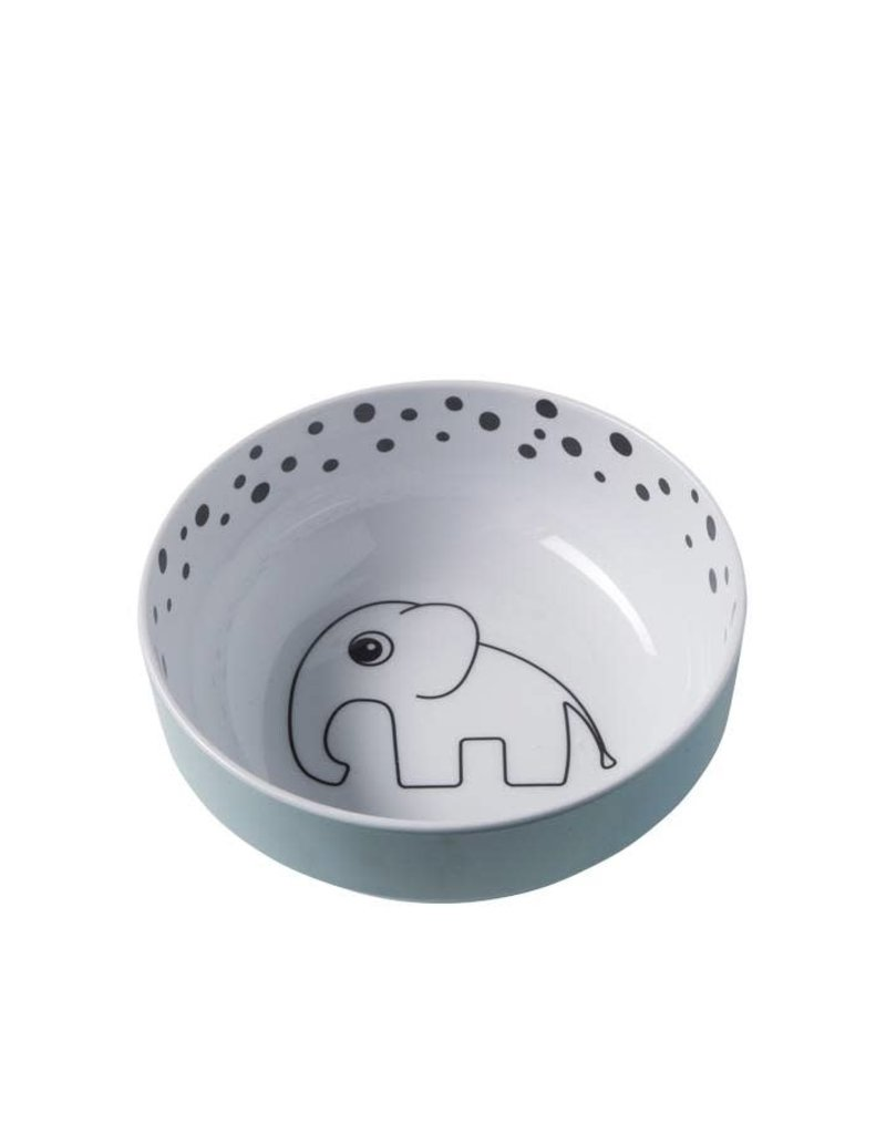 Done by Deer Dots Yummy Bowl, blue