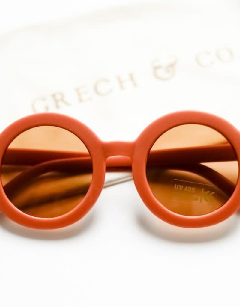 Grech & Co Zonnebril Rust