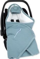 Bemini BISIDE® / 0-12m / bleu minéral / tetra jersey + terry - CADUM65TU