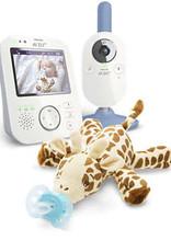 Avent Moniteur vidéo pour bébé et peluche ultra douce SCD845 / 82