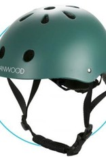 Banwood Fietshelm donkergroen