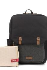 Babymel Georges Backpack tweed black