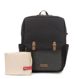 Babymel Georges Backpack tweed black