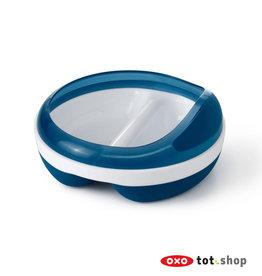 Oxo tot OXO Voedingsbordje met 2 vakken Blauw (Navy)