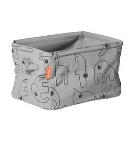 Done by Deer Toys Soft Storage Double sided basket - Grey