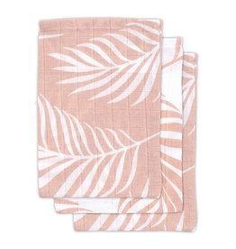 Jollein Washandjes Hydrofiel Nature - Pale Pink - 3 Stuks
