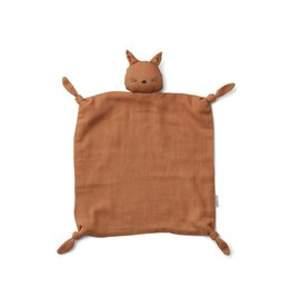Liewood Agnete Cuddle Cloth - Cat terracotta