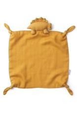 Liewood Agnete Cuddle Cloth   Dino yellow mellow