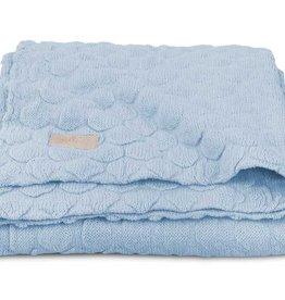 Jollein Deken 100x150cm Fancy knit baby blue