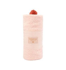 Nobodinoz Nobodinoz - So Cute baby Bath cape Pink