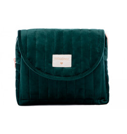 Nobodinoz Nobodinoz - Savanna velvet Trousse de toilette Jungle green