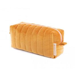 Nobodinoz Nobodinoz - Savanna velvet Vanity Case Yellow