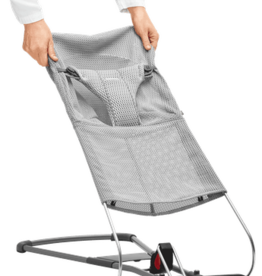 Babybjorn Extra Fabric Seat For Bouncer Bliss Grey Mesh