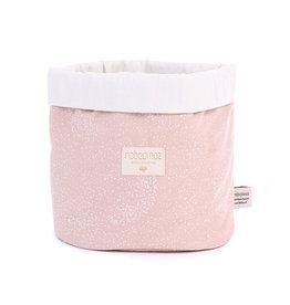 Nobodinoz Nobodinoz - Panda basket Medium Misty Pink