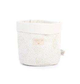 Nobodinoz Nobodinoz - Panda basket Small White