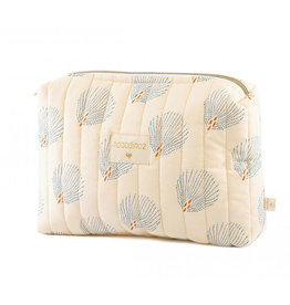 Nobodinoz Nobodinoz - Travel vanity Case Blue gatsby Cream