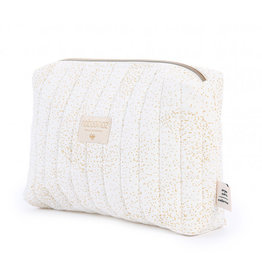 Nobodinoz Nobodinoz - Travel vanity Case Gold bubble White