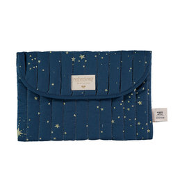 Nobodinoz Nobodinoz - Bagatelle pouch Gold stella Night blue