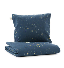 Nobodinoz Nobodinoz - Himalaya duvet Cribe Gold stella Night blue
