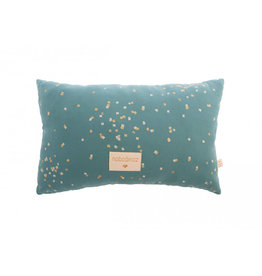 Nobodinoz Nobodinoz - Laurel Small Cushion Gold confetti Magic Green