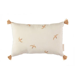 Nobodinoz Nobodinoz - Sublim Cushion Nude Haiki birds Natural