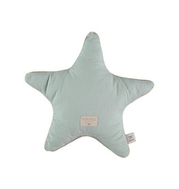 Nobodinoz Nobodinoz - Aristote Star Cushion Aqua