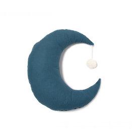 Nobodinoz Nobodinoz - Pierrot Moon Cushion Night blue