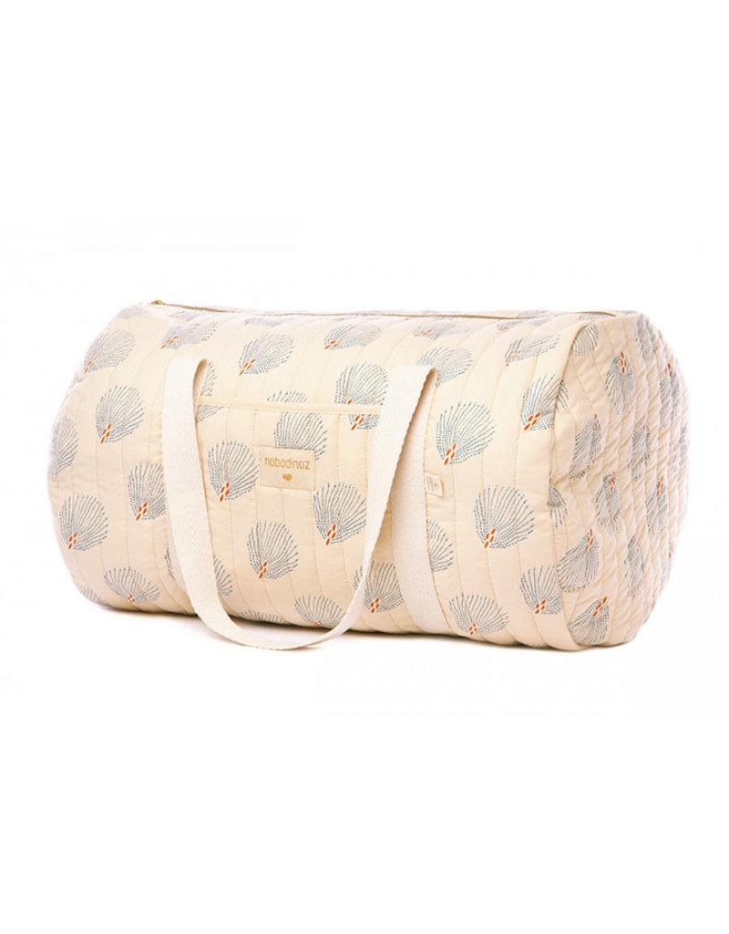 Nobodinoz Nobodinoz - New York Weekend bag Blue gatsby Cream
