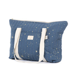 Nobodinoz Nobodinoz - Paris Maternity bag Gold Stella Night Blue
