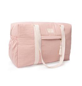 Nobodinoz Nobodinoz - Opera Waterproof Maternity bag Misty pink