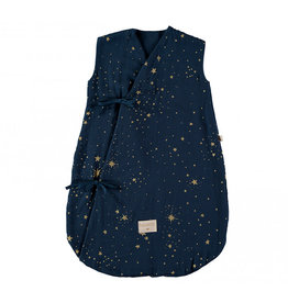 Nobodinoz Nobodinoz - Dreamy Summer 0-6 Sleeping bag Gold Stella Midnight blue
