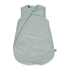 Nobodinoz Nobodinoz - Cocoon Mid season 0-6m Sleeping bag White bubble Aqua