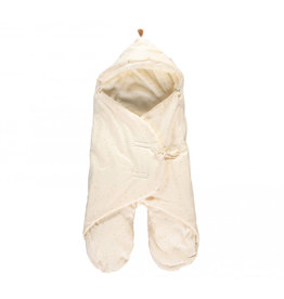 Nobodinoz Nobodinoz - Kiss me natural Mid season 0-6m Baby wrap Honey sweet dots Natural
