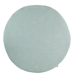 Nobodinoz Nobodinoz - Full moon Playmat Small White bubble Aqua