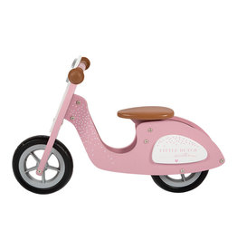 Little Dutch Little Dutch - Loopscooter Roze