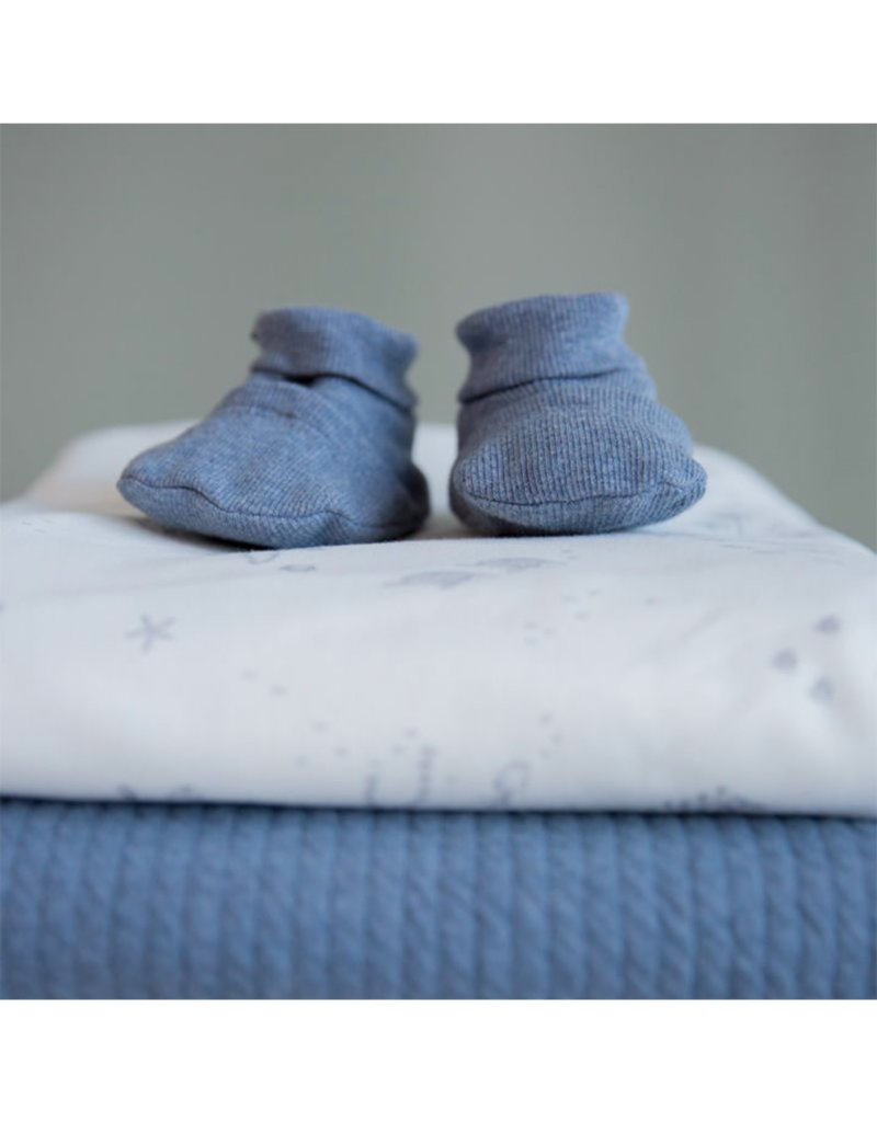 Little Dutch Little Dutch - Chaussons bébé Blue Melange 17/18
