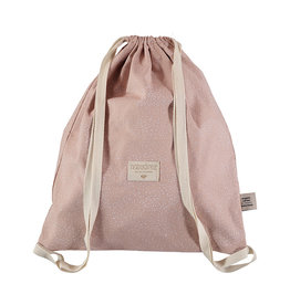 Nobodinoz Nobodinoz - Koala Backpack White bubble Misty pink