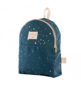 Nobodinoz Nobodinoz - Too cool Mini backpack Gold Stella Night blue