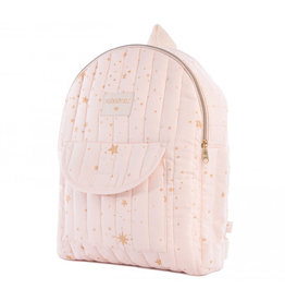 Nobodinoz Nobodinoz - Too cool Kid backpack Gold Stella Dream pink