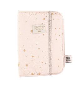 Nobodinoz Nobodinoz - Poema Health booklet Gold Stella Dream pink