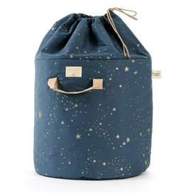Nobodinoz Nobodinoz - Bamboo Toy bag Large Gold Stella Night blue