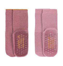 Lassig Lässig - Anti-slip Socks 19-22 Rosewood
