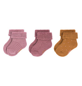 Lassig Lässig - Newborn Socks 12-14 Rosewood