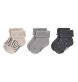Lassig Lässig - Newborn Socks 19-22 Grey