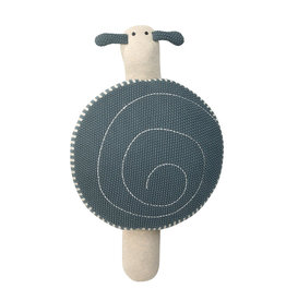 Lässig Lässig - Knitted Pouf S Garden Explorer Snail Blue