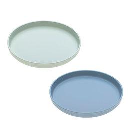 Lässig Lässig - Plate Set Mint / Blueberry